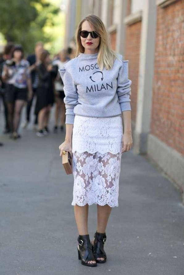 street-style-milan-fashion-week-2013-falda-bordada-y-sudadera
